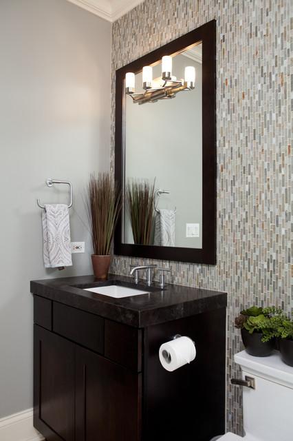 Barrington hills modern bathroom chicago by for Bathroom remodel under 10000
