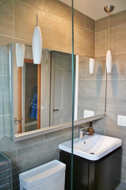 Motawi tile And Robern Bathroom Remodel In Ann Arbor - Modern - Bathroom - detroit - by Dexter ...