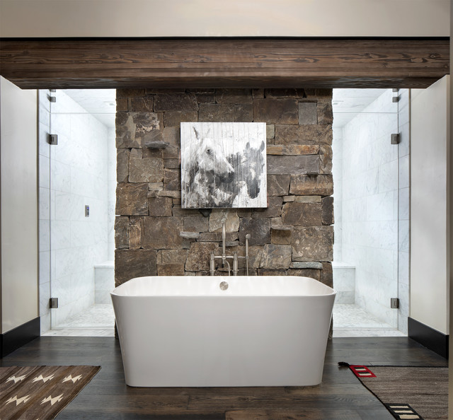 Your Guide To A Rustic Style Bathroom