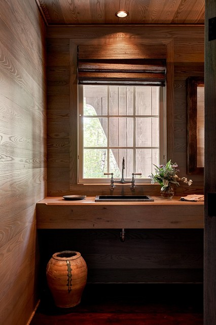 Mountain Magic Rustic Bathroom Charlotte By Goodman Millwork