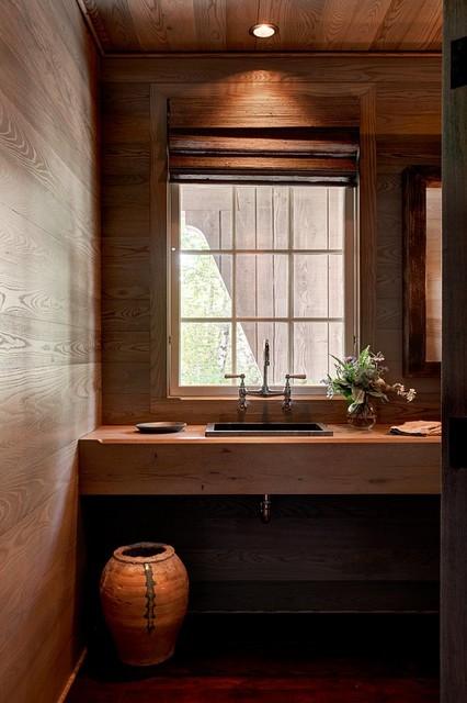 Mountain Magic Rustic Bathroom Charlotte By Goodman Millwork