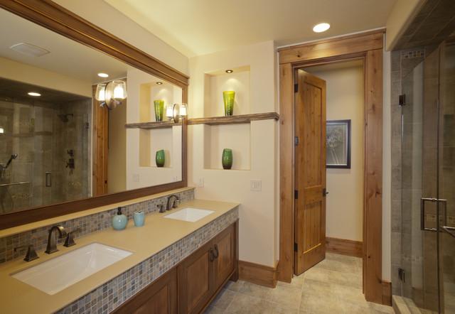 Mountain Modern bathroom contemporary-bathroom
