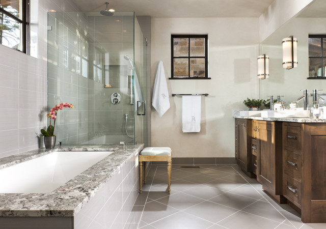 Mountain Modern Home Rustic Bathroom Other By Altius Design Group