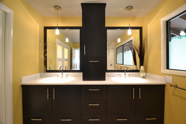 Modern Master Suite modern bathroom