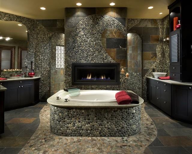 Mountain Retreat Contemporary Bathroom Phoenix By