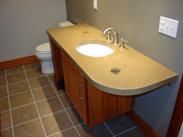 Movie Theater Basement contemporary-bathroom