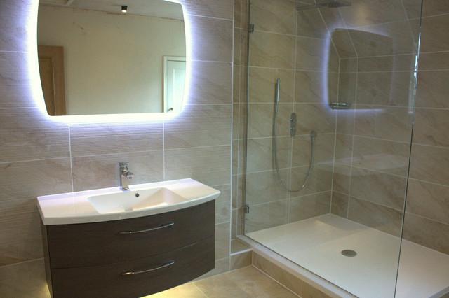 Mr Mrs Dennis Contemporary Bathroom Essex By Daman Of Witham
