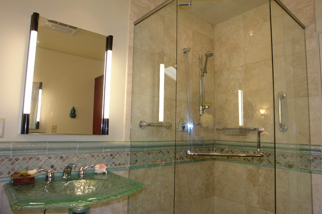 Mt Helix Bath Remodel - Beach Style - Bathroom - san diego - by Mathis Custom Remodeling