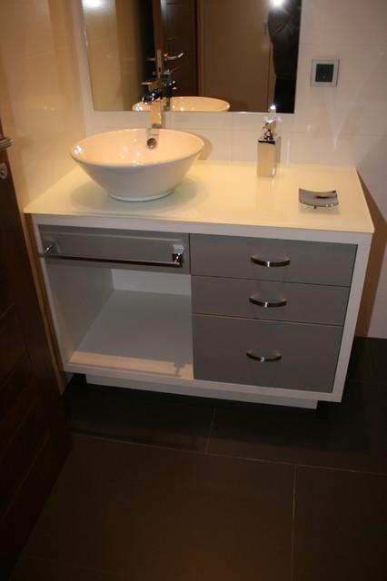 Muebles para ba os de vivienda unifamiliar - Muebles cuartos de bano ...