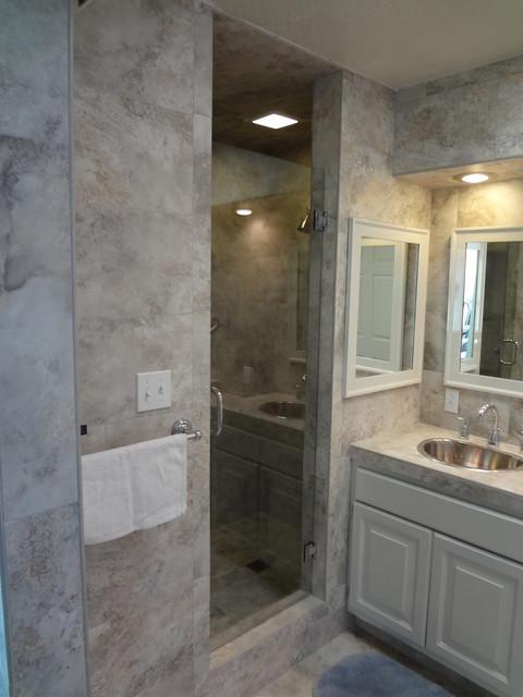 Mueller bath remodel traditional bathroom for Bath remodel albuquerque