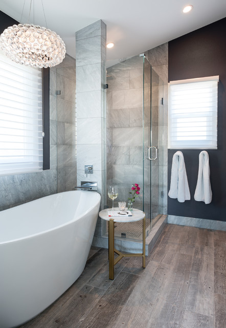 muirfield court transitional bathroom denver by