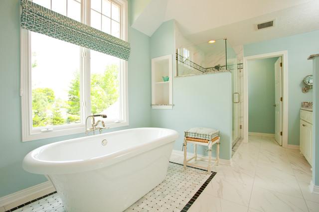 Mulsanne Drive Master Bath Contemporary Bathroom