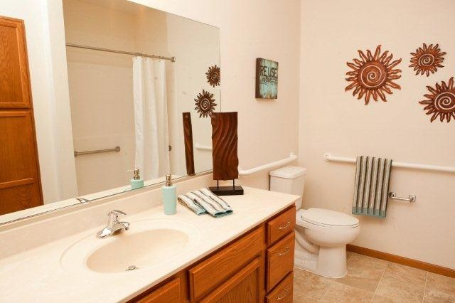 Multi Family Residential eclectic-bathroom