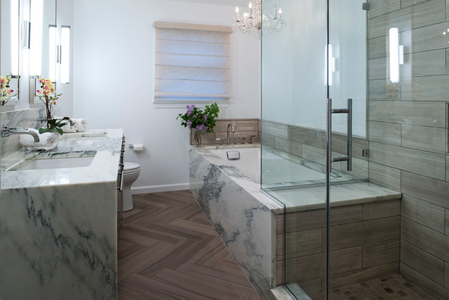 Multi room remodeling arlington va contemporary bathroom dc metro by case design Bathroom remodeling arlington va