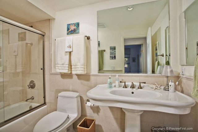 Multi-Room Renovation Del Mar contemporary-bathroom