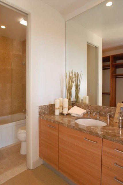 Custom Residential Coastal Home contemporary bathroom