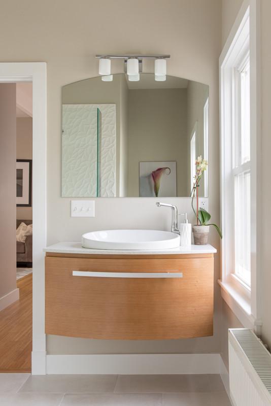 Munjoy Hill Renovation - Contemporary - Bathroom ...
