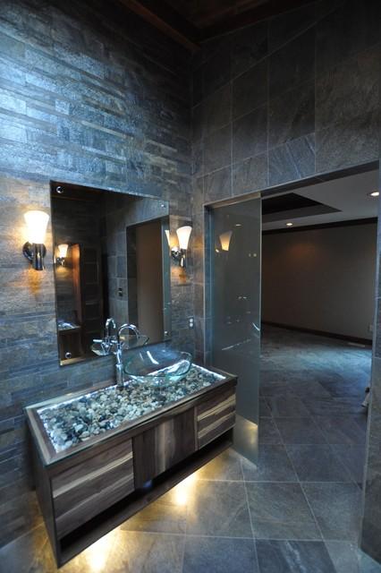 Munro spa bathroom remodel greenwood indaina modern for Bathroom remodel greenwood in