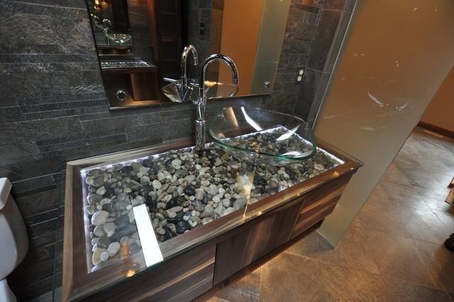 Munro Spa Bathroom Remodel Greenwood, Indaina Modern Bathroom