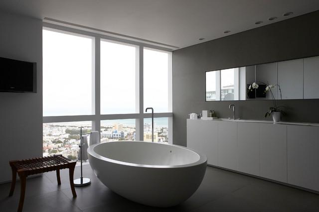 murano grande penthouse modern bathroom miami by. Black Bedroom Furniture Sets. Home Design Ideas