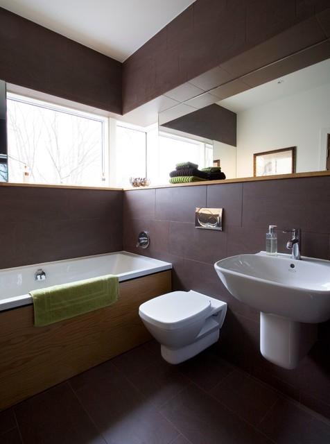 Murrayfield Villa Contemporary Bathroom Edinburgh By Zone Architects