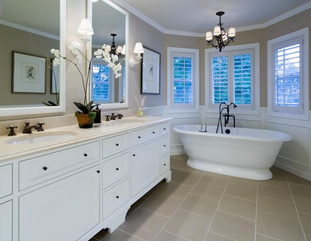 Murrayhill master bath traditional bathroom portland for Portland baths
