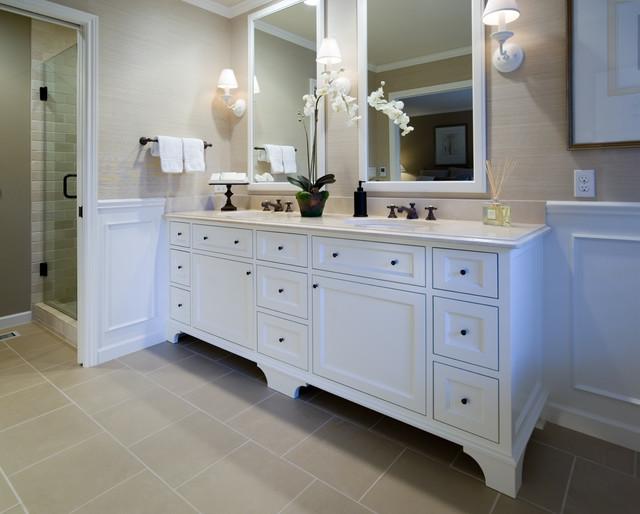 Bathroom Remodel Ideas White Cabinets : Murrayhill master bath traditional bathroom portland