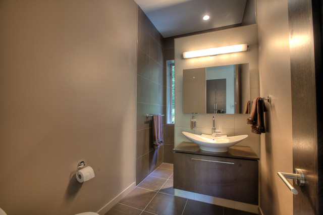 Advanced Building Consultants : Murstein house modern bathroom seattle by advanced