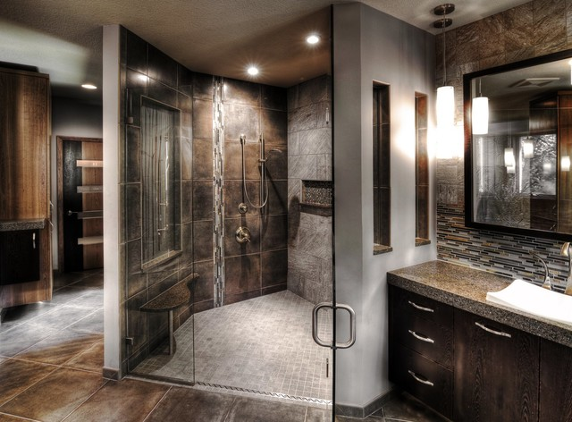 Must see master bath shower contemporary bathroom for Bathroom photos you must see