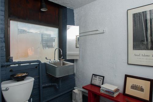 10 id es d co pour salle de bains industrielle blog de - Comment cacher une chaudiere dans une cuisine ...