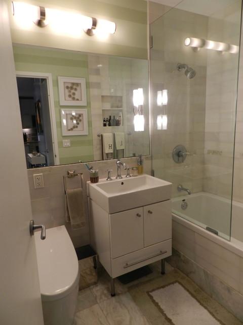 Contemporary Bathroom by Frances Bailey