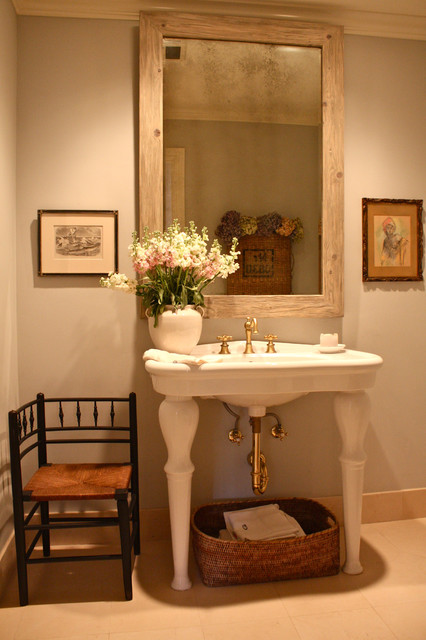 Guest bathroom traditional bathroom san francisco for Houzz bathrooms traditional