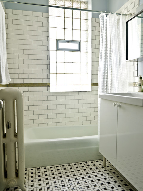 Modern Rustic Traditional Bathroom Chicago By