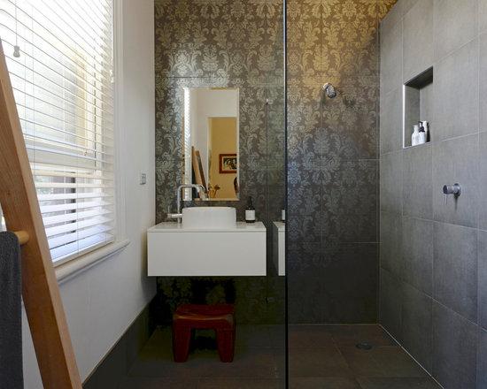 Mid Century Modern Bathroom Vanity Home Design Ideas Pictures