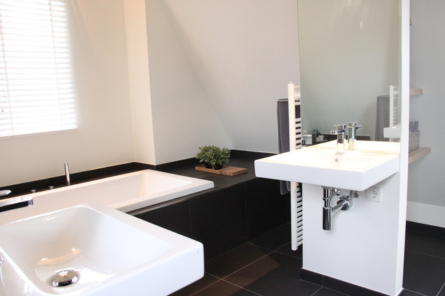 My Houzz: Contemporary Country Style in the Netherlands contemporary-bathroom