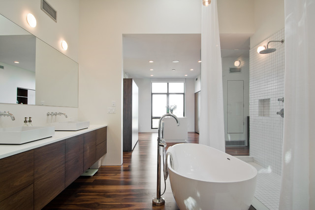 my houzz david moderne salle de bain salt lake city par lucy call. Black Bedroom Furniture Sets. Home Design Ideas