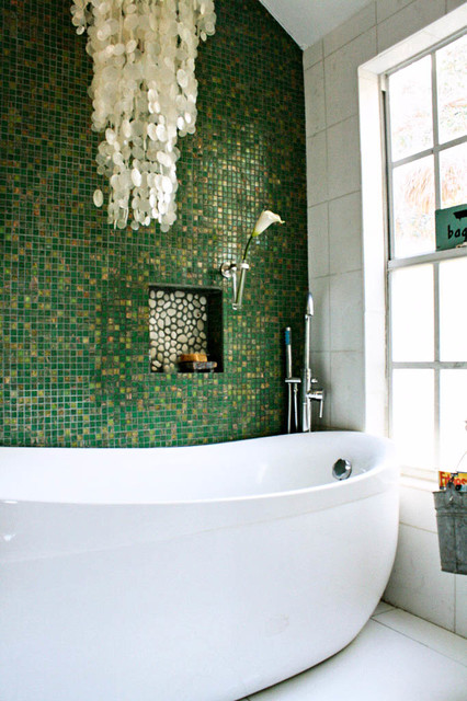 Carcary Residence eclectic-bathroom