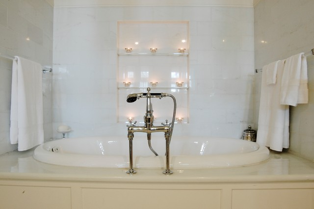 My Houzz: Early 1900s Home blends Traditional Design with Comfort and Style traditional-bathroom