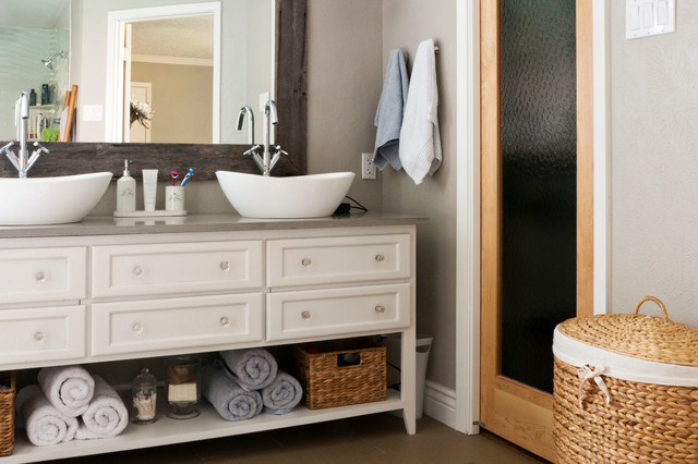 my houzz gurfinkel classique chic salle de bain. Black Bedroom Furniture Sets. Home Design Ideas
