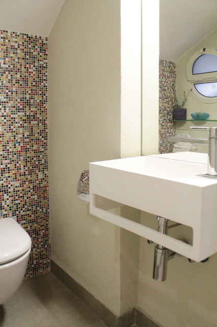 My houzz light and serenity fill an 1890 home for 1890 bathroom design