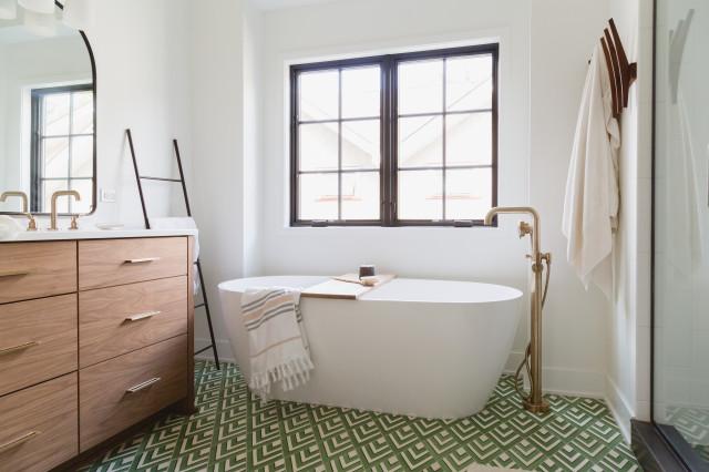 6 Beautiful Master Bathrooms With, Bathroom Vanities Cincinnati Ohio