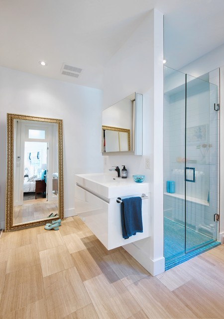 My Houzz: Post Architecture // Albany House - Contemporary - Bathroom - toronto - by Andrew Snow ...