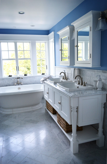 My Houzz Spacious Cottage On The Jersey Shore Bathroom