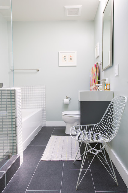 contemporary bathroom by nanette wong - Bathroom No Window