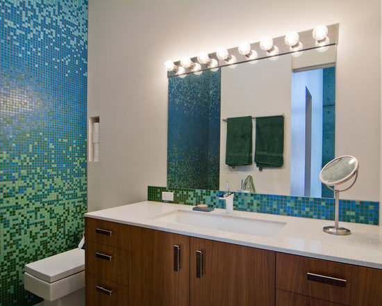 Makeup Mirrors Bathroom Design Ideas, Pictures, Remodel & Decor
