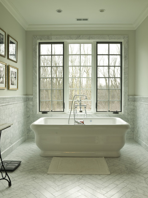 French country traditional bathroom chicago by cynthia lynn