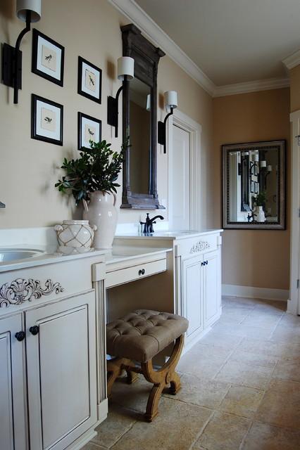 My Houzz Whitley Lake House Beach Style Bathroom New York By Corynne Pless