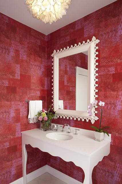 my office eclectic-bathroom