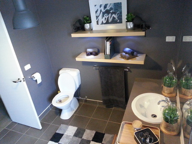 My Own Home Renovation Industrial Bathroom Melbourne
