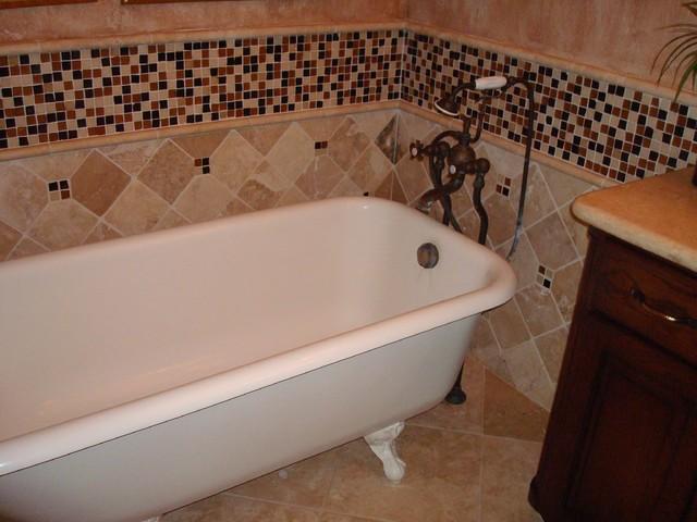 My tile designs traditional-bathroom